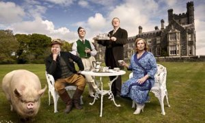Blandings castle and residents